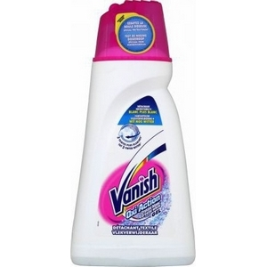 Gel détachant textile vanish oxi action crystal blanc 1l