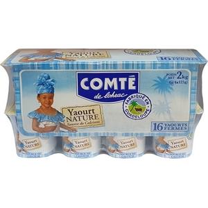 Comté yaourt nature 16x125g
