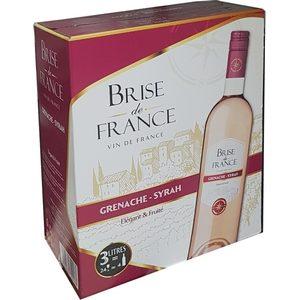 Vin cinseau brise de france, Grenach-Syrah 12% vol. 3l