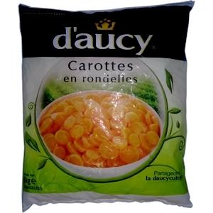 D'aucy carottes rondelles 1kg
