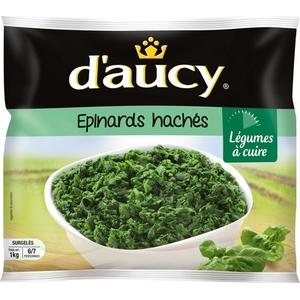 D'aucy épinards hachés 1kg