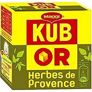 Maggi kub or herbes de provence étui 120g