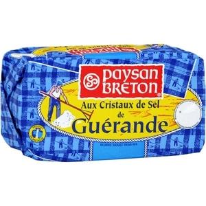 Paysan breton beurre moulé aux cristaux de sel de guérande 250g