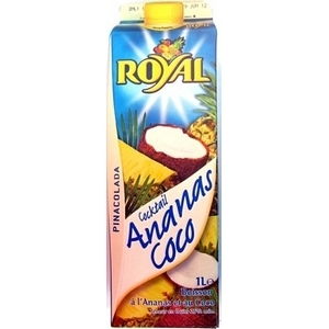 Royal cocktail ananas coco pinacolada 1l