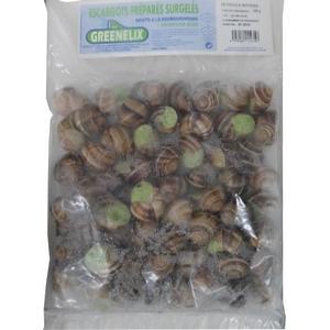Escargots préparés surgelés à la bourguignonne x60 pieces