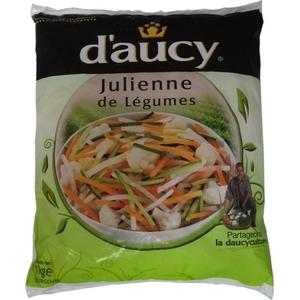 D'aucy julienne de légumes 1kg