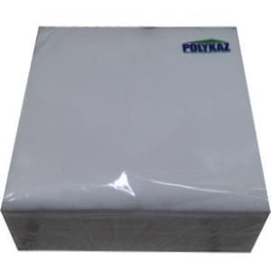 Polykaz serviettes papier 2 plis blanc 35/38/40 lot de 40