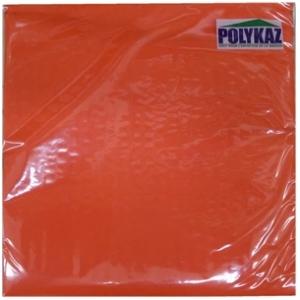 Polykaz serviettes papier 2 plis orange 35/38/40 lot de 40
