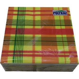 Polykaz serviettes papier 2 plis madras 35/38/40 lot de 40