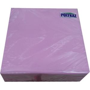 Polykaz serviettes papier 2 plis rose 35/38/40 lot de 40