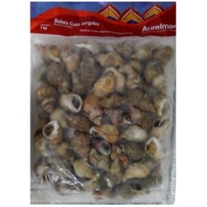 Bulots cuits surgelés aurelmar poids net : 1kg