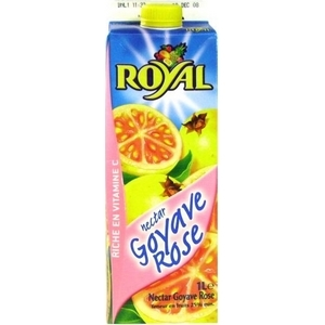 Royal nectar goyave rose 1l