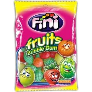 Bubble gum fini fruits 100g