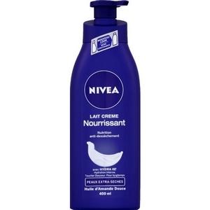 Nivéa lait crème nourissant peaux sèches à extras sèches 250ml