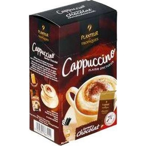 Planteur des tropiques cappuccino saveur chocolat 8 sticks 151g