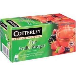 Cotterley thé fruits rouges 25 sachets