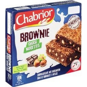 Chabrior brownie choco noisettes 285g