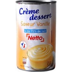 Netto crème dessert vanille 510g