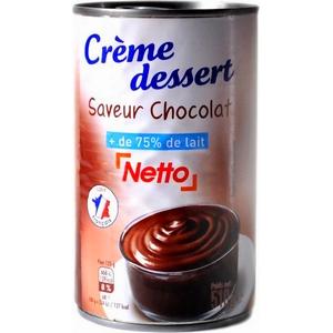 Netto crème dessert chocolat 510g
