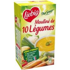 Liebig mouliné de 10 légumes 1l
