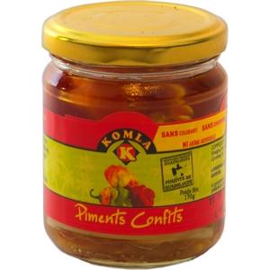 Komla piments confits 170g