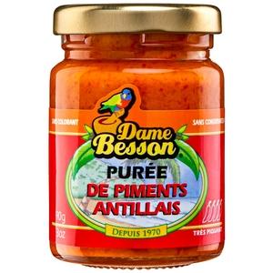 Dame besson purée de piments antillais 90g