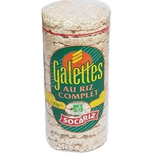 Socariz galettes de riz 130g