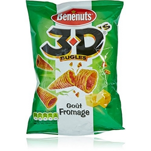 Chip's 3d benenuts goût fromage 85g
