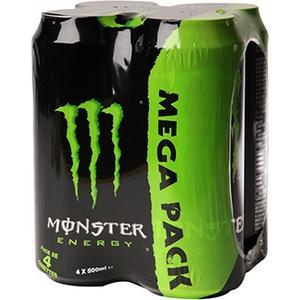 Bière monster énergy original 4x50cl 5,8% vol.