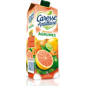 Caresse antillaise douceur agrumes 1l