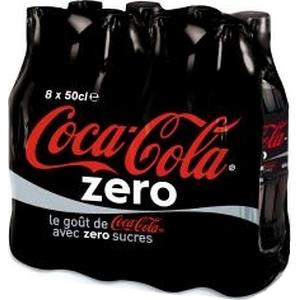 Coca-cola zéro 8x50cl