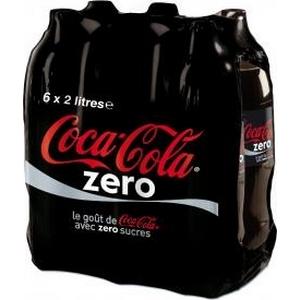 Coca-cola zéro 6x2l