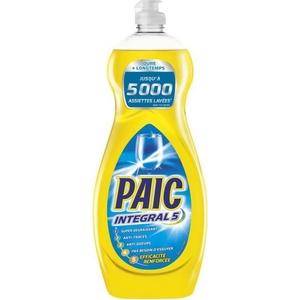 Liquide vaisselle Paic intégral 5 efficacité renforcée 750ml