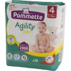 Pommette couches Agility 7-18kg x28