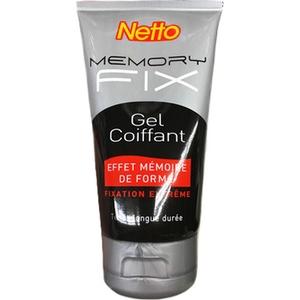 Netto gel coiffant mémoire de forme fixation extrême 150ml