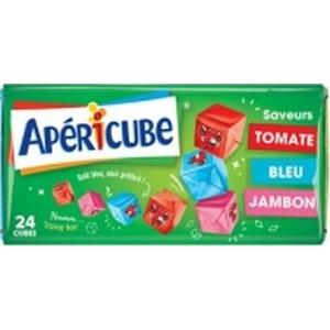 Apéricube campagne saveur jambon, bleu, tomate x24 125g