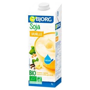 Bjorg lait de soja vanille 1l