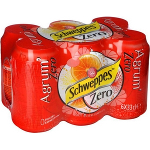 Schweppes agrumes 6x33cl