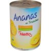 Netto ananas en tranches 580ml