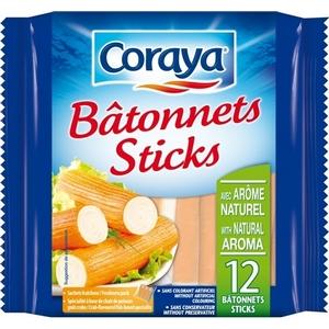 Coraya bâtonnets sticks x12 180g