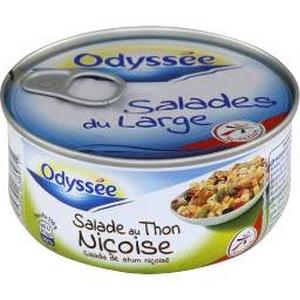 Odyssée S. Niçoise au thon 250g