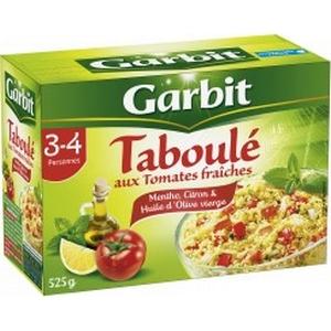 Garbit Taboulé aux tomates fraîches 525g