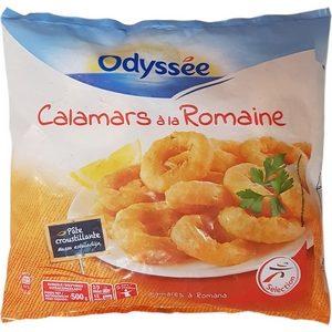 Odyssée calamars à la Romaine 500g