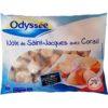 Odyssé noix de Saint-Jacques avec corail 400g
