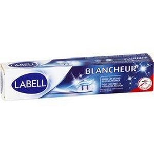 Labell dentifrice blancheur 75ml