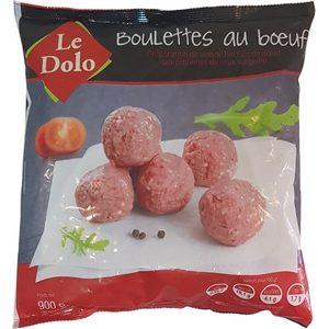 Le Dolo boulettes au bœuf 900g