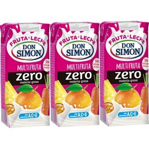 Boisson lactée Don Simon Multifruits 3x330ml