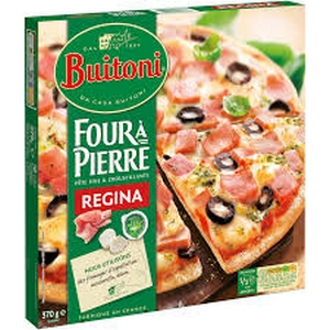Buitoni pizza four à pierre régina 370g