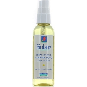 Biolane spray d'huile d'amande douce corps et bain 100ml