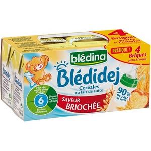Blédidej saveur briochée 4x250ml